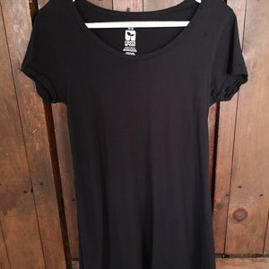 Roots long black t-shirt
